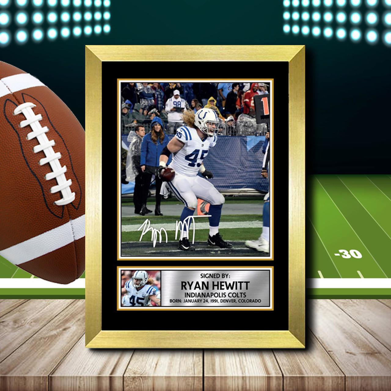 Ryan Hewitt 2 - Signed Autographed NFL Star Print