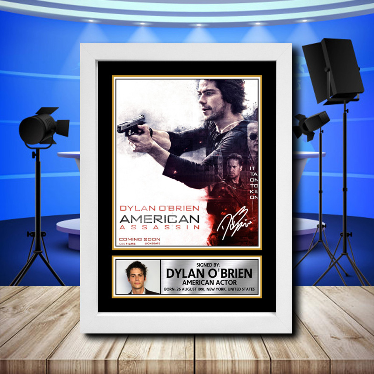 American Assassin Film Poster 1 A4 /& A3