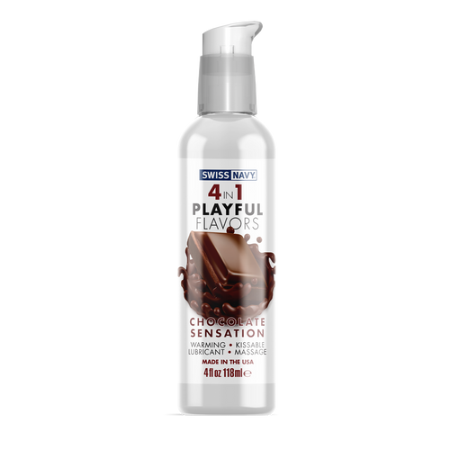 4 in 1 - Playful Flavors - Chocolate Sensation
