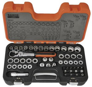 Bahco 53 Piece Ratchet Socket Set
