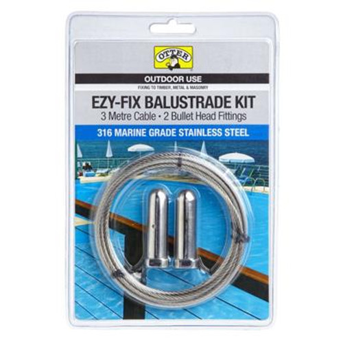 Otter Ezy-Fix Balustrade Kit 3m