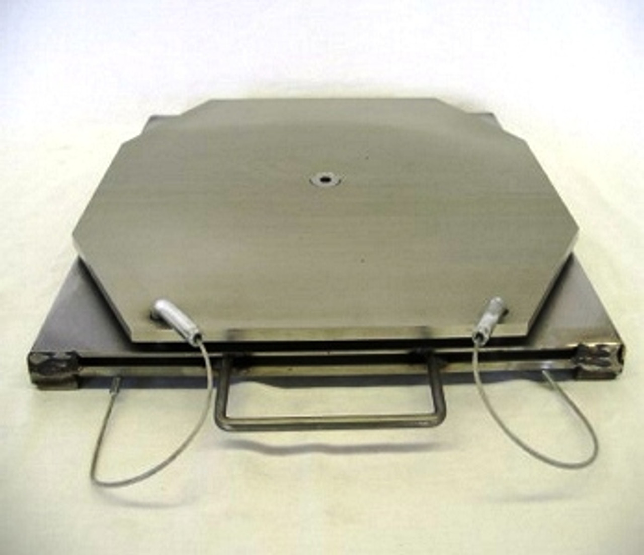 Stainless Steel Turn-plate without Pointer.