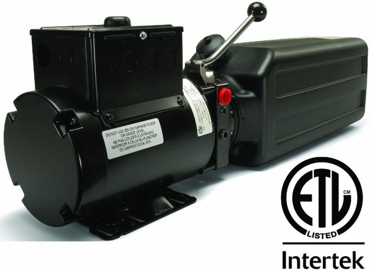 Complete ETL Certified SPX / Stone brand replacement Auto Lift Power Unit. SKU: AC-10AH.