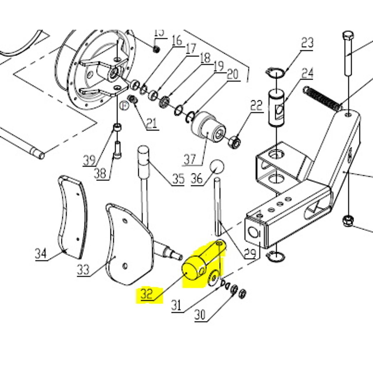 Tire Machine part 104-3013865