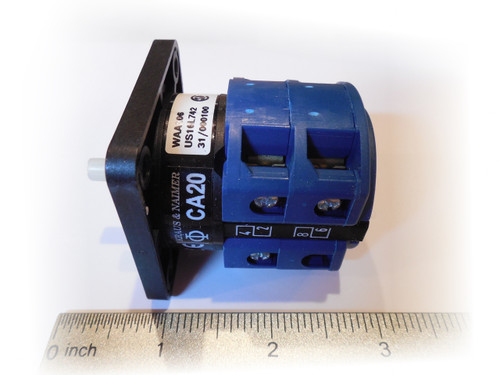 Photo of ShopEquipmentParts part CA20 3-phase Motor Start Switch for vehicle lifts.