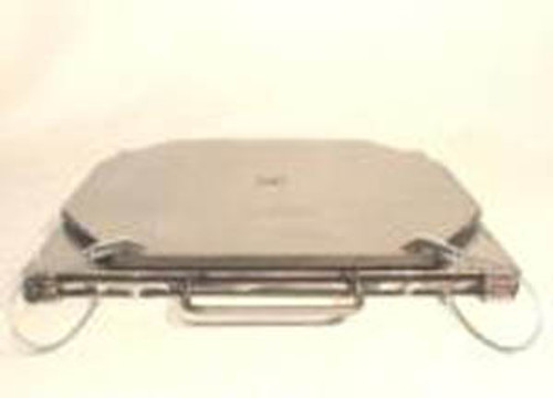 TURN-PLATES, Set of 2 - Stainless Steel, Medium Duty. Ships FREE in the USA.