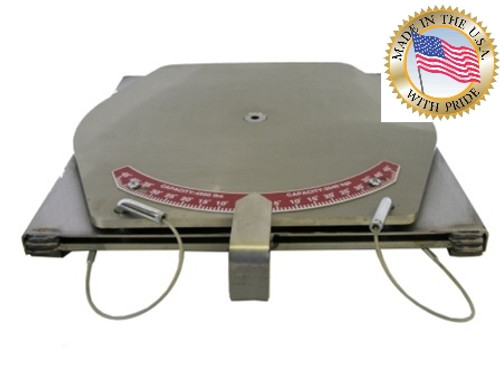 Alignment TURN-PLATES, Pointer, Stainless Steel, Standard Duty. Ships FREE in the USA.