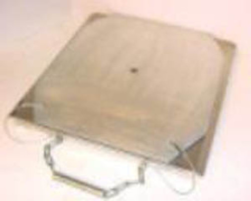 TURN-PLATES, Set of 2 - Aluminum, Heavy Duty. Ships FREE in the USA.