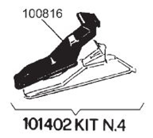 Illustration of 100816 Wheel Protector for AccuTurn, Bosch, and Sicam Tire Changers