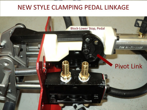 BLOCK - lower stop pedal; for Coats®. 85608560