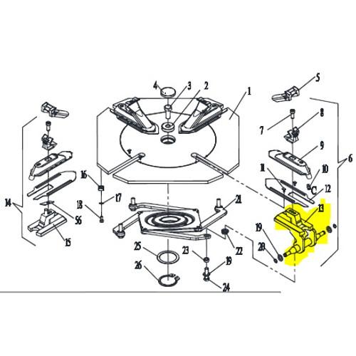 Tire Changer part YC1-2415756