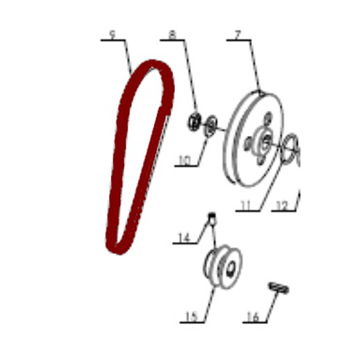 Belt for Atlas Tire Machine