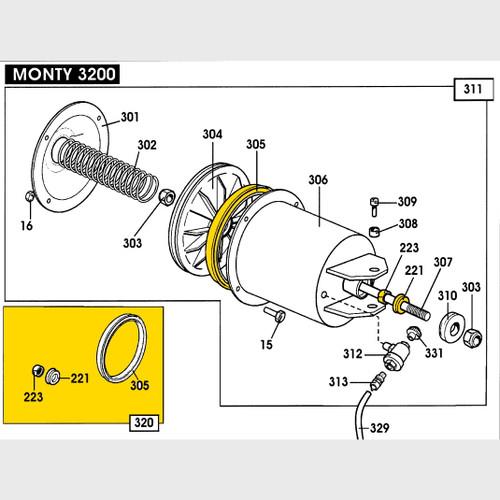 Hofmann Tire Changer Part 2200603
