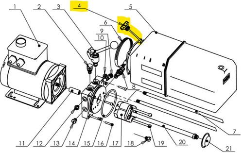VIBO Auto Lift Power Unit Breather Cap