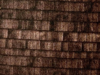 """31430- 03, Landscape - Brown Tone Shingles Fabric, 100% Cotton, 42"""" wide"""