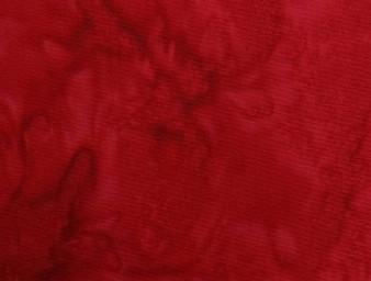 """1895-5 Red Bali Handpaints Blender Watercolour, 100% Cotton, 42"""" wide"""