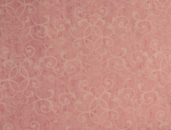 """Poetic Blossoms By Lisa Audit Pink, 100% Cotton, 42"""" wide Item #: 86258- 333"""