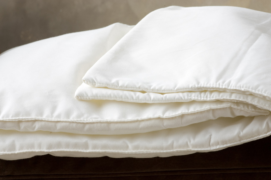 Thin comforter look and hems!
