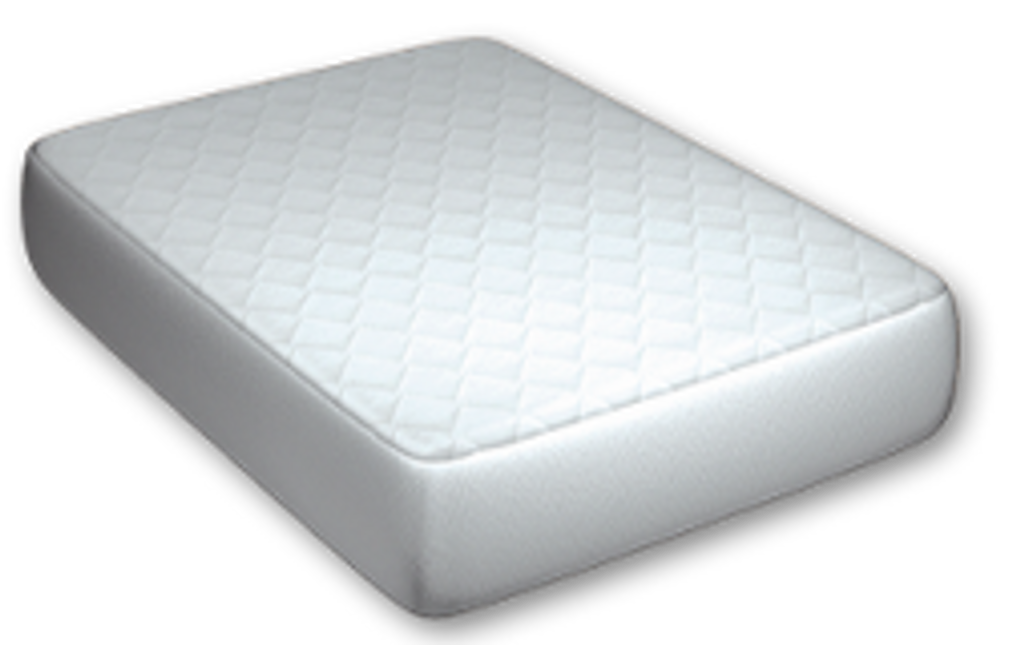 Pad on the bed!