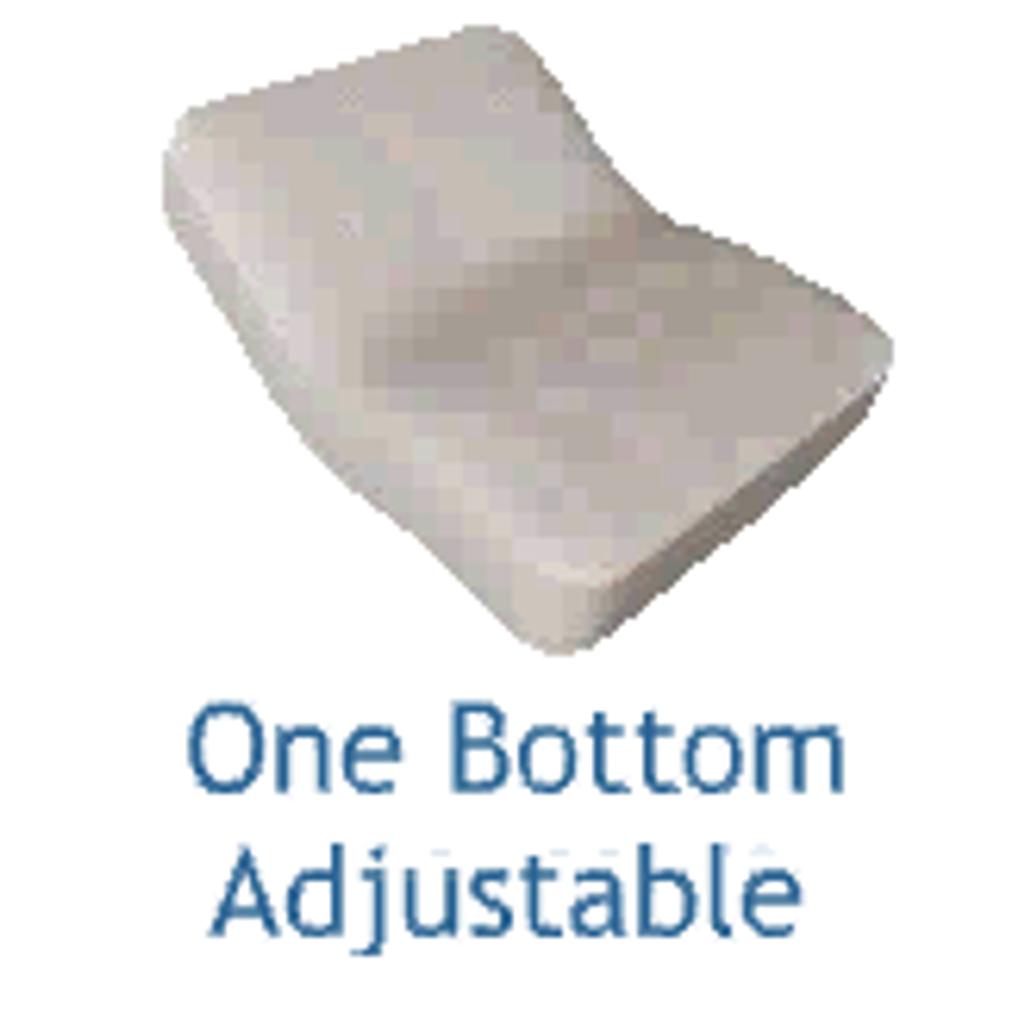 One Bottom Adjustable Mattress Design