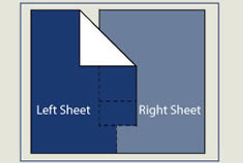 DoubleUps Split Top Sheet Design