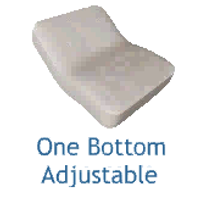 One Bottom Adjustable Mattress design