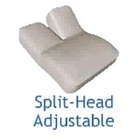Split-Head Adjustable Design