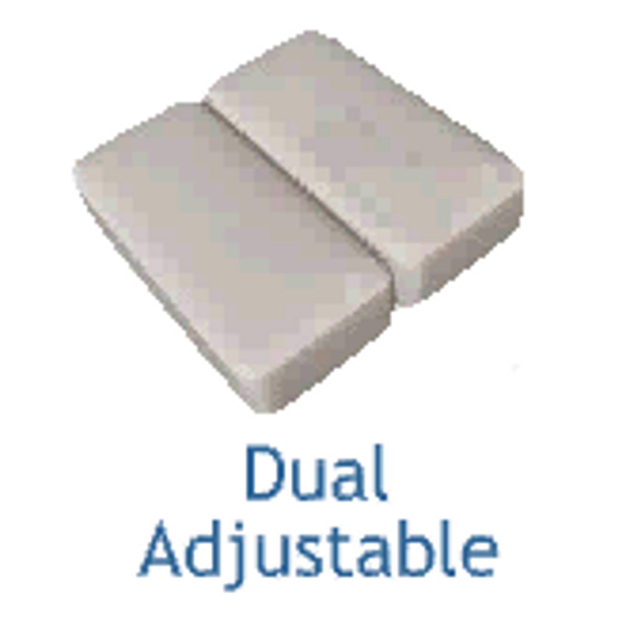 Adjustable Bed - Dual (Split) Bottom Design