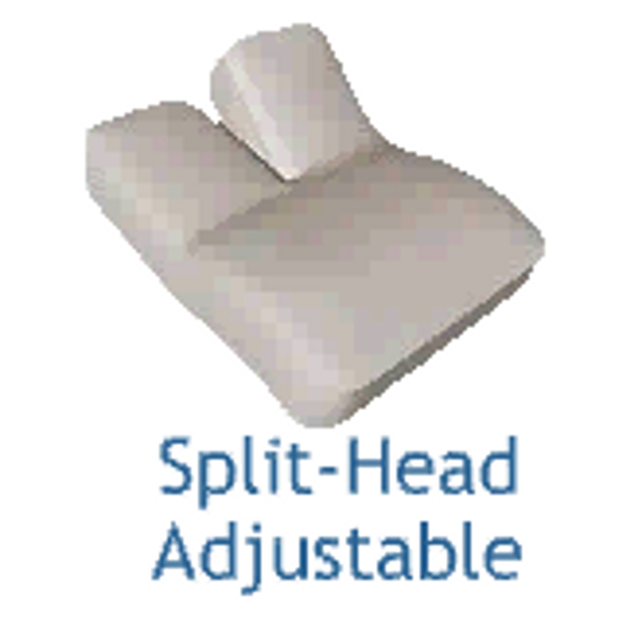 Adjustable Bed - Split-Head Design