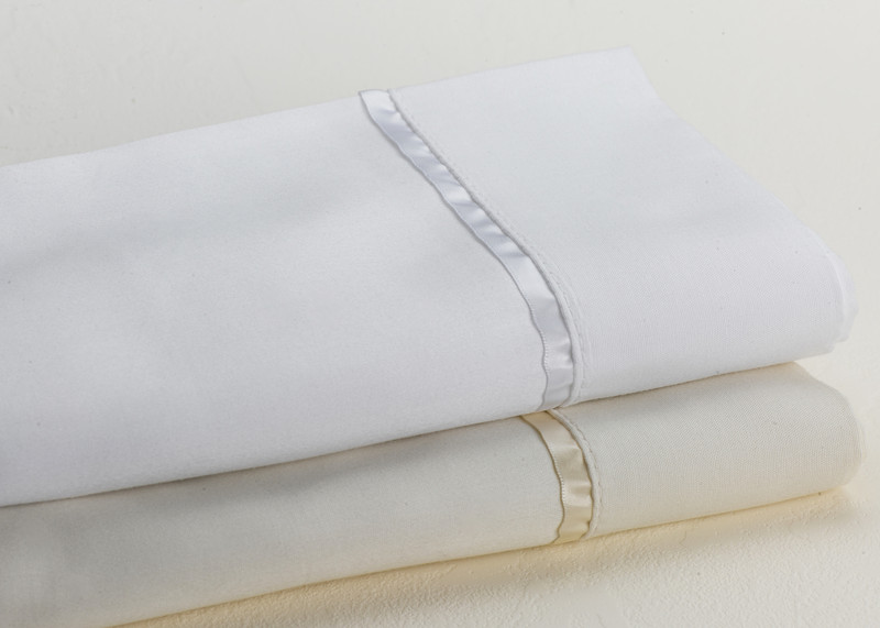 600 Thread Count Pillow Cases Trimmed