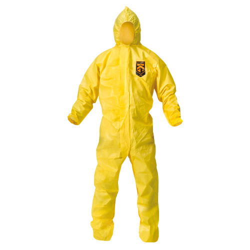 KLEENGUARD A70 CHEMICAL SPRAY PROTECTION COVERALL SUIT LARGE