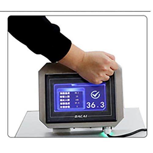 Non-contact temperature scanner.