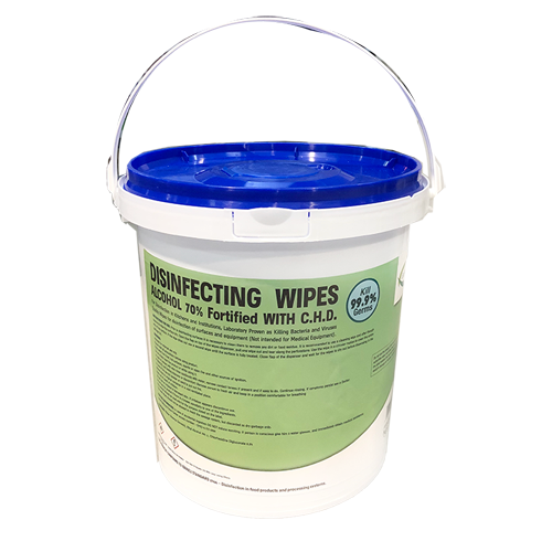 Ultimate Disinfectant Wipes 400/Bucket - No Limit!