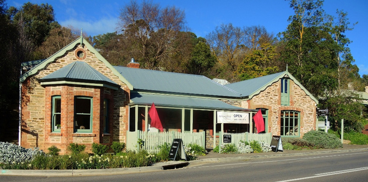The historic stone building in Clarendon, South Australia, that is Emprades vintage and design