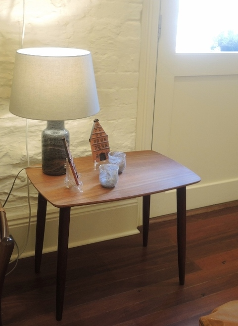 Mid Century Modern Danish Teak Small Splay Leg Coffee Table      Details     Images & Videos     Inventory     Options & SKUs     Custom Fields     Other Details     Bulk Pricing