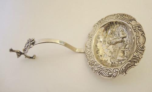 Art Deco 833 Silver Punch Ladle Raisin Spoon Dutch 1926