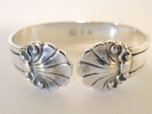 Vintage 830S solid silver napkin Ring Carl M Cohr 1940's