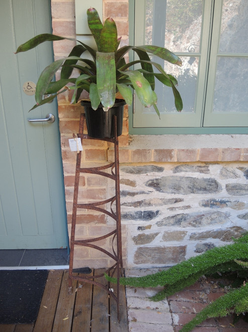 Vintage Rusty Iron Pot stands Great for Plants- several available