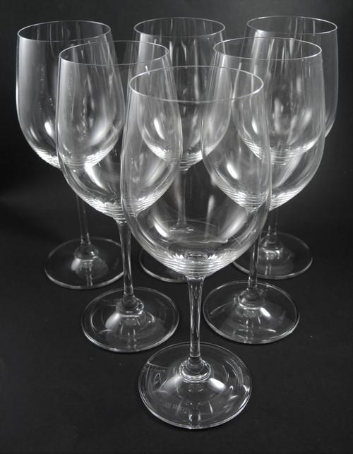 6 Riedel Crystal Vinum Chardonnay Viogner Wine Glasses