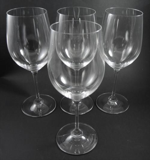 4 Riedel Crystal Vinum Chardonnay Viogner Wine Glasses