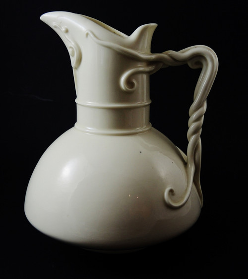 Antique Royal Worcester Creamware Pitcher no. 1378 made in 1889