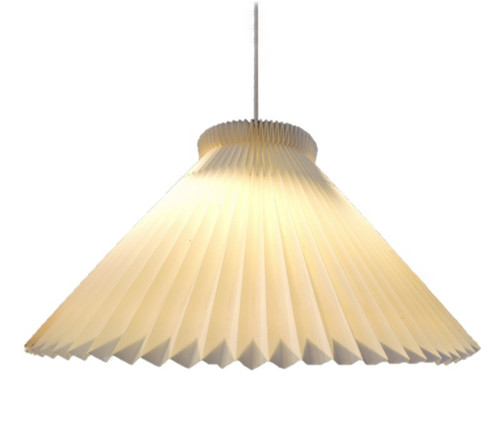 Vintage Mid Century Modern Danish 1-30 Le Klint Pendant Light