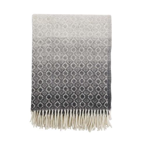 Brand New Klippan Lambs Wool Blanket Havanna in natural