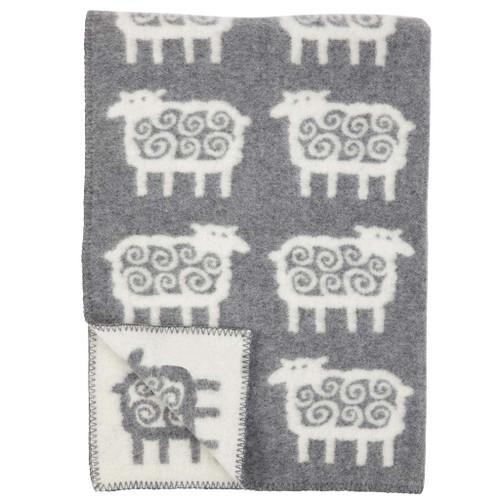 Brand New Klippan Lambs Wool Kids Sheep Blanket 90cm x 130cm