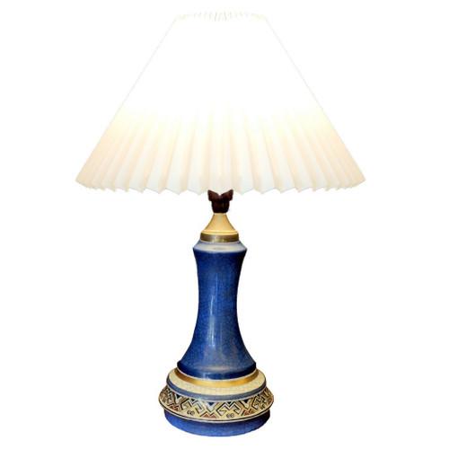 Dahl Jensen Art Deco Porcelain Lamp