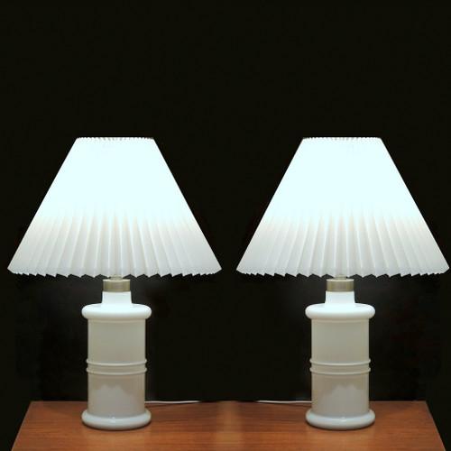 Pair of Vintage Holmegaard Apoteker Lamps Sidse Werner.