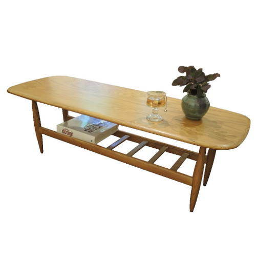 TH Brown Frisco Coffee Table in Light Ash