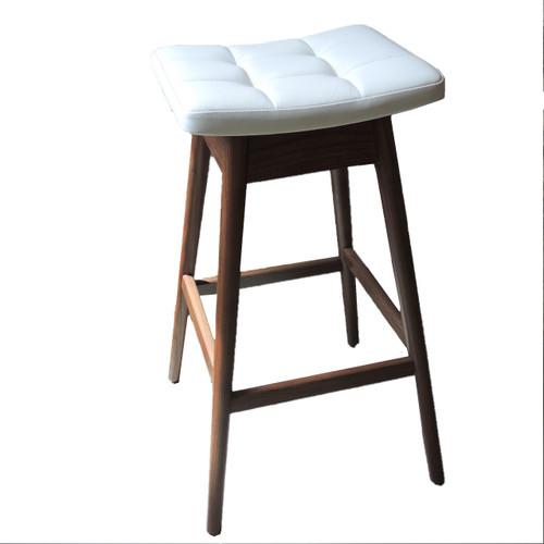 "New Australian T H Brown Solid Timber Bar Stool ""Martelle"""