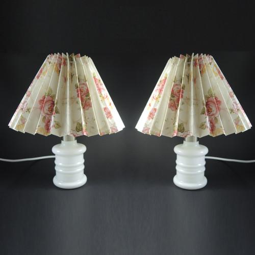 Pair of Vintage Small Holmegaard Apoteker Lamps Sidse Werner.