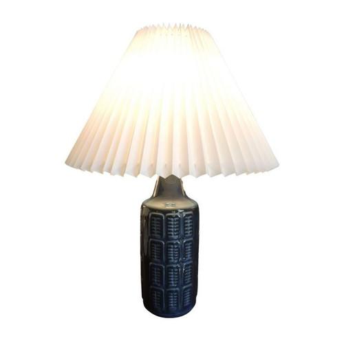 Large Vintage Einar Johansen for Soholm Art Pottery Table Lamp made in Denmark